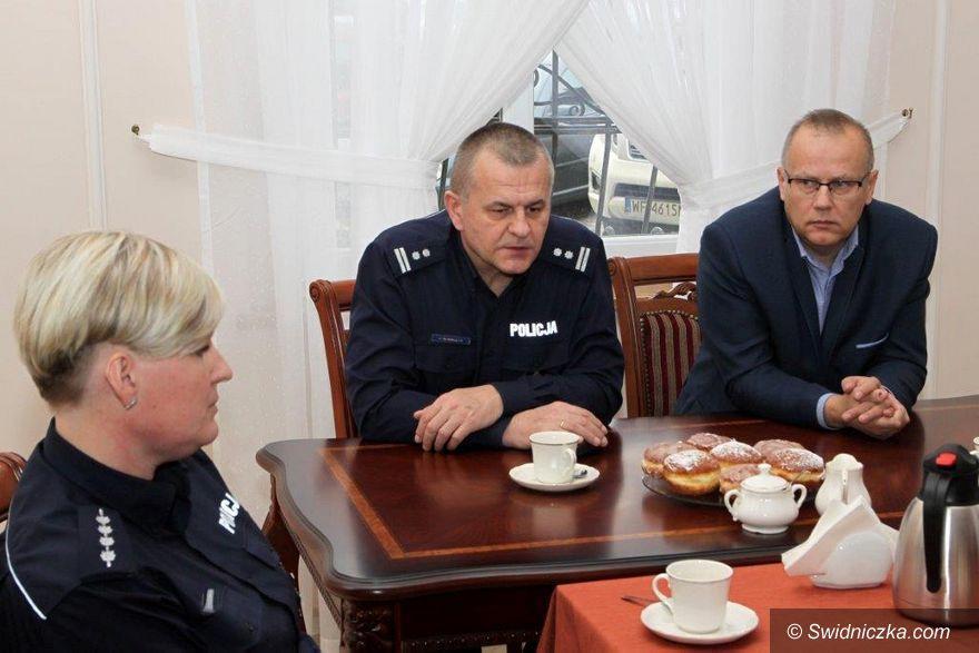 Gmina Dobromierz: Odprawa roczna Policji