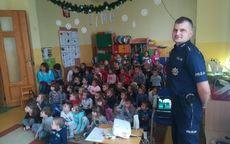 Świdnica: Policjanci świdnickiej Komendy z wizytą w Przedszkolu nr 1 w Świdnicy
