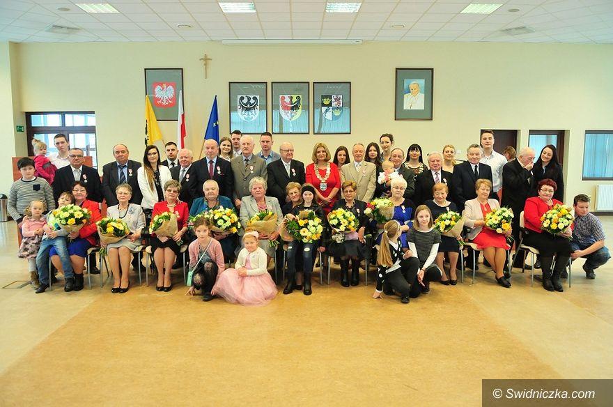 Świdnica: Jedenaście par świętowało jubileusze pożycia małżeńskiego