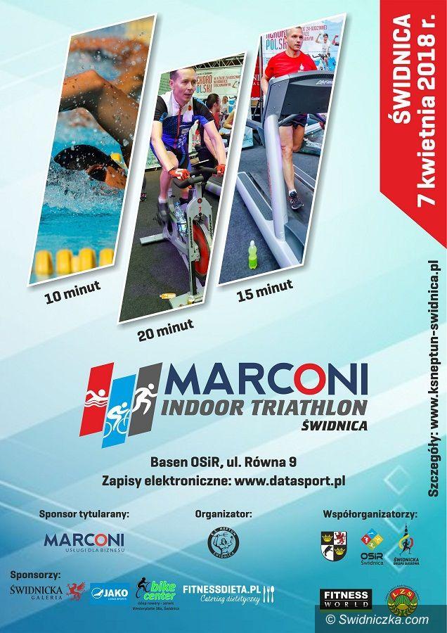 Świdnica: Marconi Indoor Triathlon Świdnica przed nami