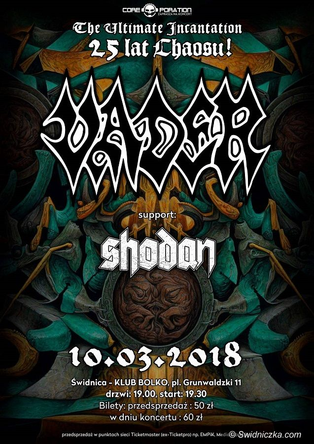 Świdnica: Bolko w marcu jak w garncu – metal, rock, hip–hop