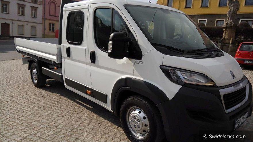 Gmina Dobromierz: Nowy samochód dla ekipy technicznej w Dobromierzu