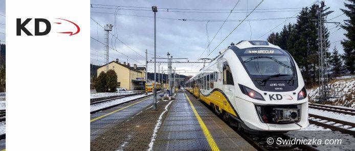REGION: Nowy rozkład jazdy Kolei Dolnośląskich