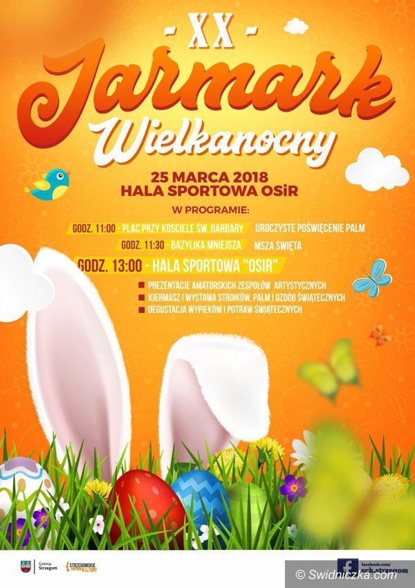 Strzegom: Zaproszenie na Jarmark Wielkanocny