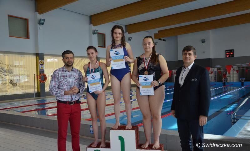 Żarów: Zawody pływackie na żarowskim basenie