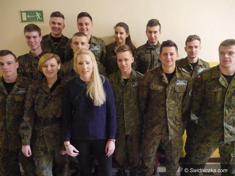 Strzegom: Szwedka na zajęciach w strzegomskim LO