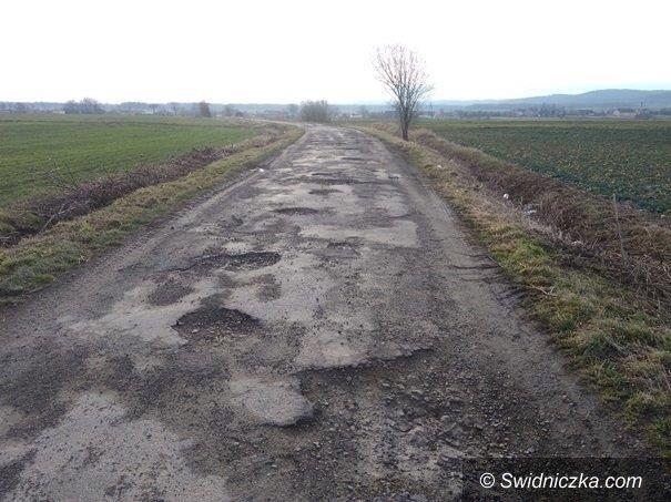 Szymanów/Serwinów: Droga Szymanów–Serwinów do remontu