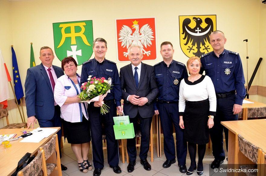 Marcinowice: Zmiana kierownictwa w marcinowickiej policji