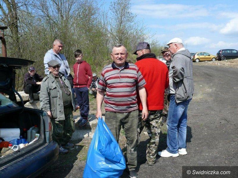 Rusko: Posprzątali zbiorniki w Rusku