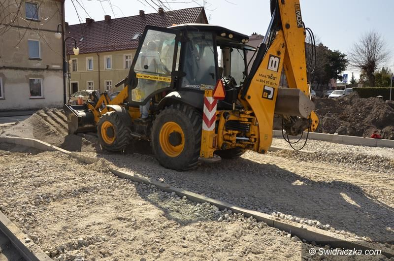 Żarów: Trwają prace przy budowie pętli postojowej