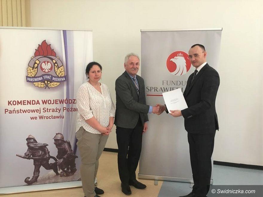 Marcinowice: Dotacja dla Gminy Marcinowice – wyposażenie OSP