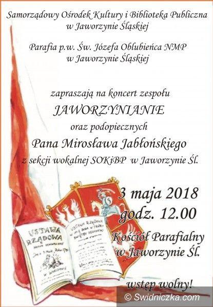 Jaworzyna Śląska: Koncert z okazji Święta Konstytucji 3 Maja