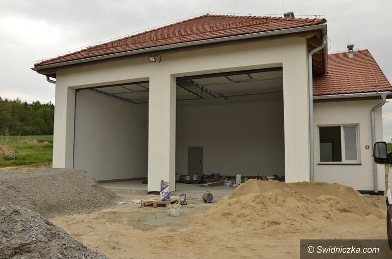 Mrowiny: Nowy garaż OSP prawie gotowy