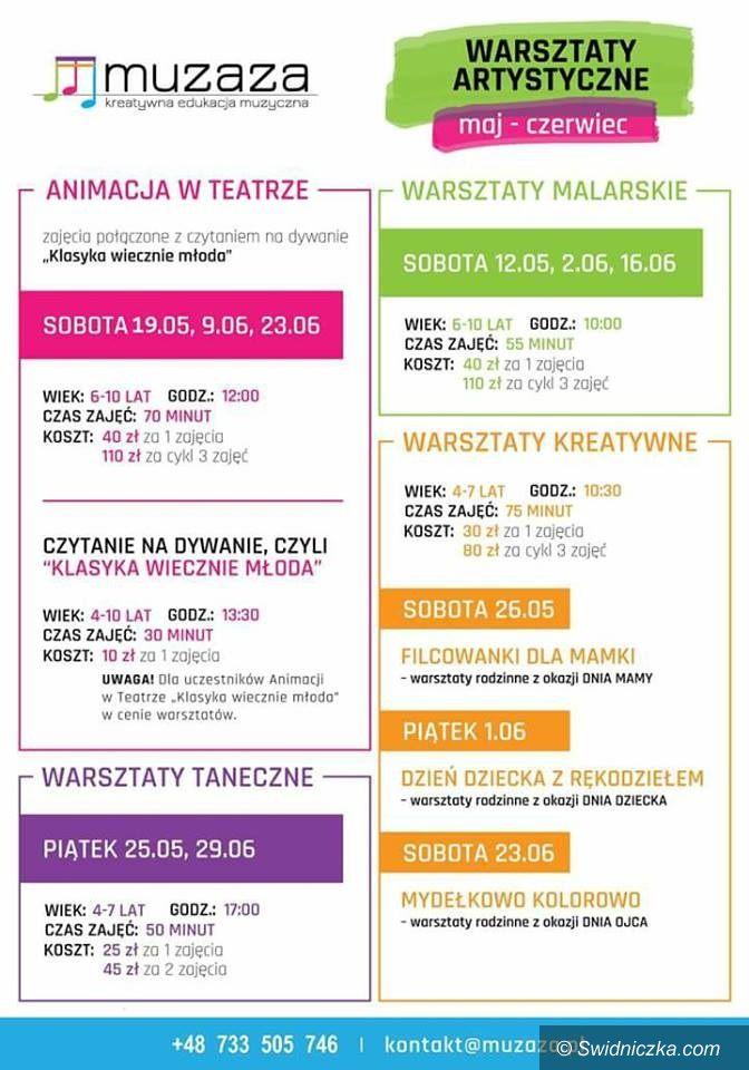 Świdnica: Artystycznie – nie tylko muzycznie: warsztaty weekendowe w Muzazie