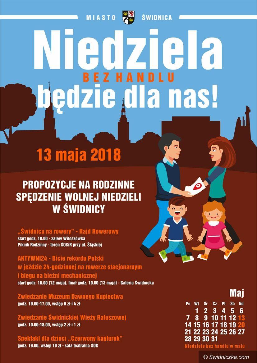 Świdnica: Niedziela bez handlu nie musi być nudna