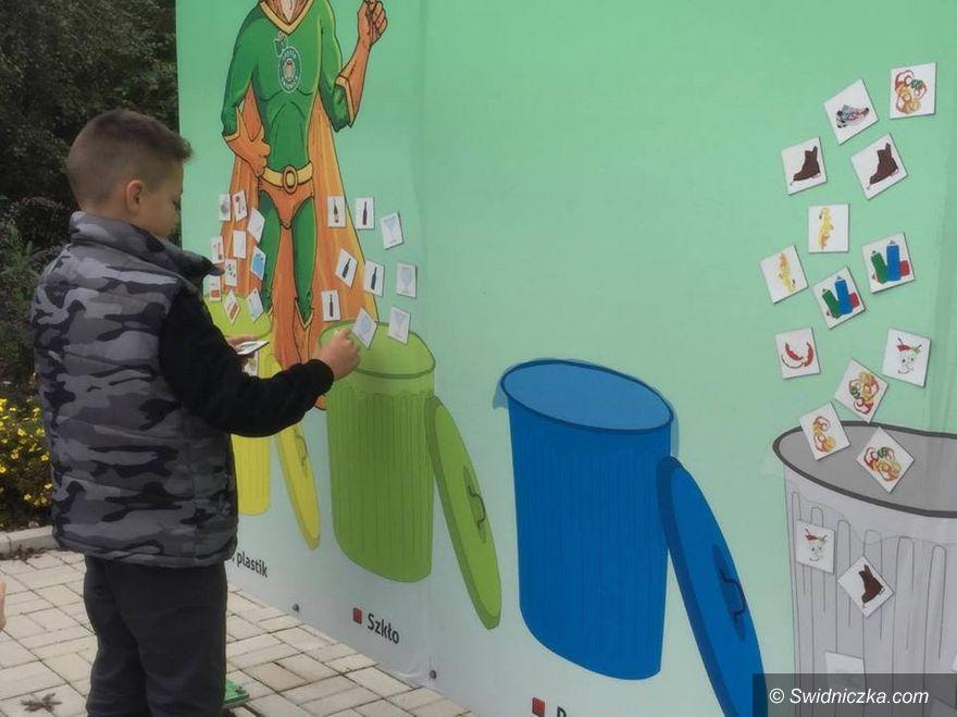 Świdnica: Ekologiczne warsztaty terenowe w PUO i PSZOK