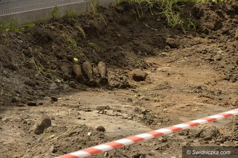 Żarów: Znaleziono niewybuchy z czasów II wojny światowej
