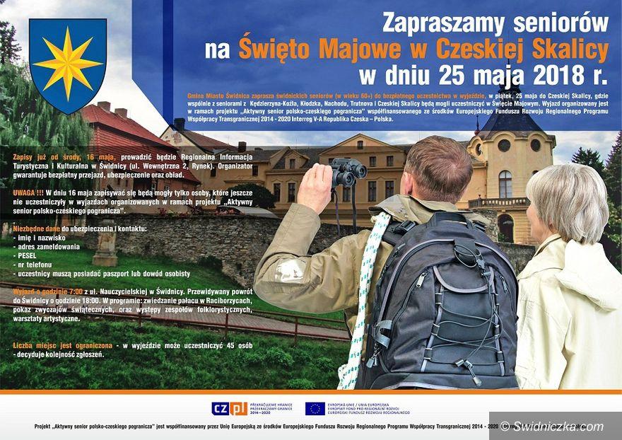 Świdnica: Zapraszamy seniorów na Święto Majowe w Czeskiej Skalicy