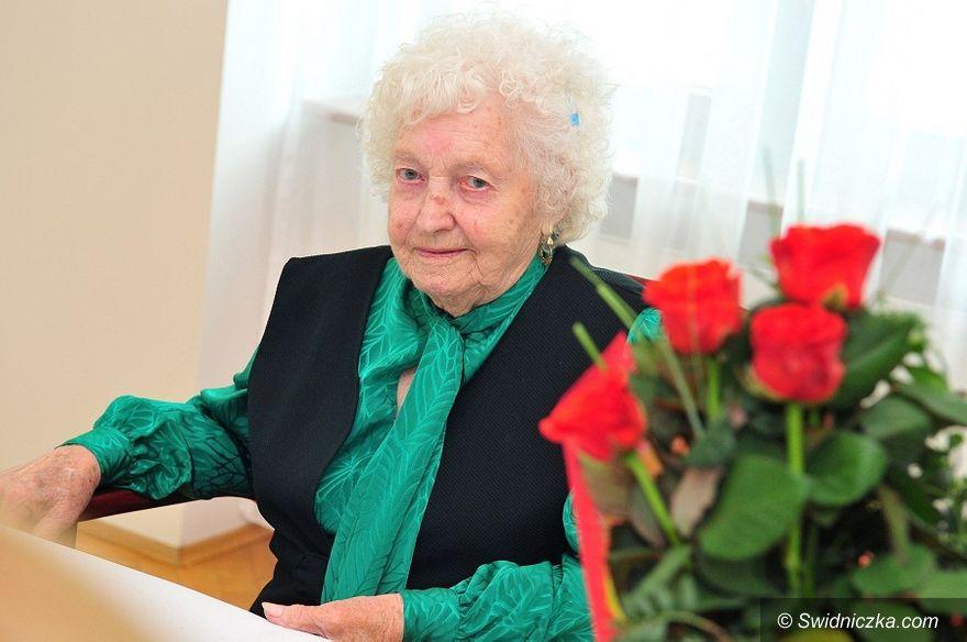 Świdnica: Życzyli kolejnych stu lat dla Pani Zofii