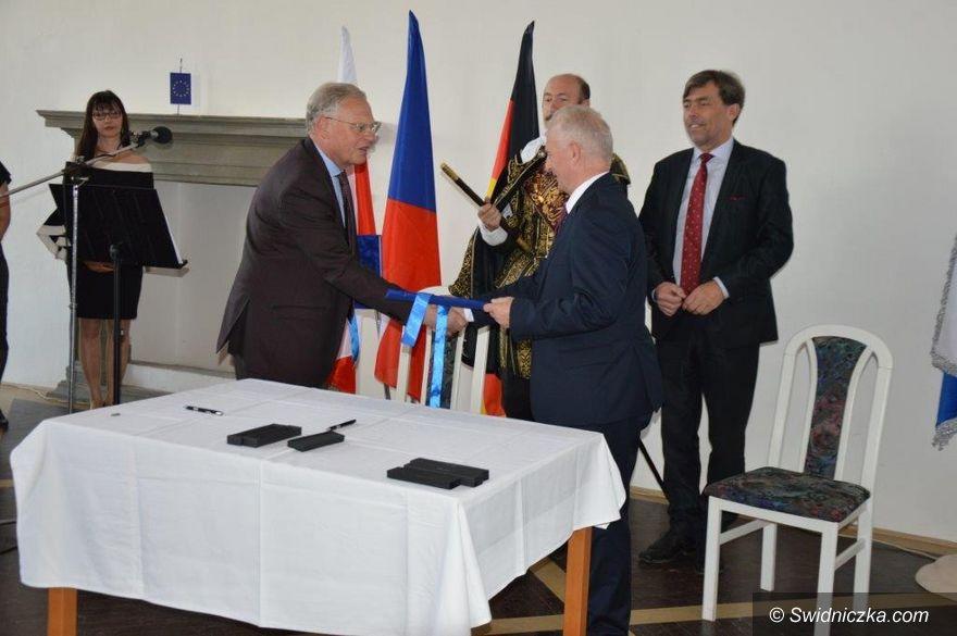 powiat świdnicki: 10 – lecie partnerstwa Powiatu Świdnickiego z Miastem Jičín