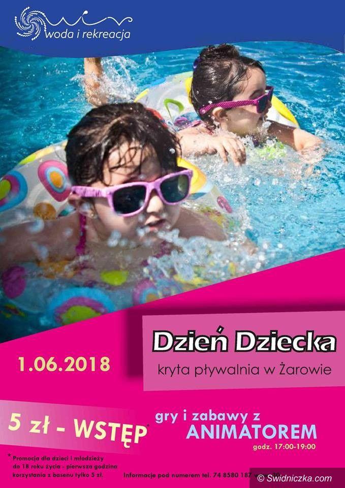 Żarów: Dzień Dziecka na żarowskim basenie