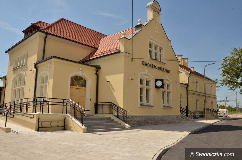 Żarów: Otwarcie dworca PKP w Żarowie