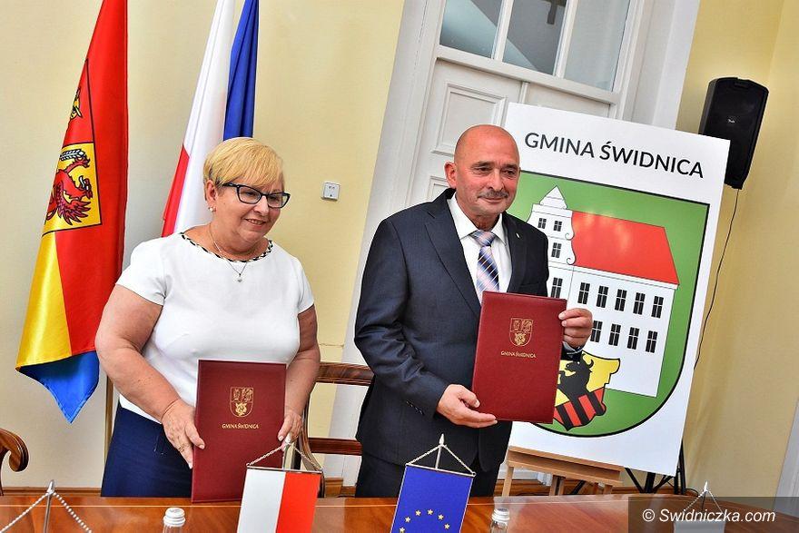 Gmina Świdnica: Połączyły ich nieporozumienia