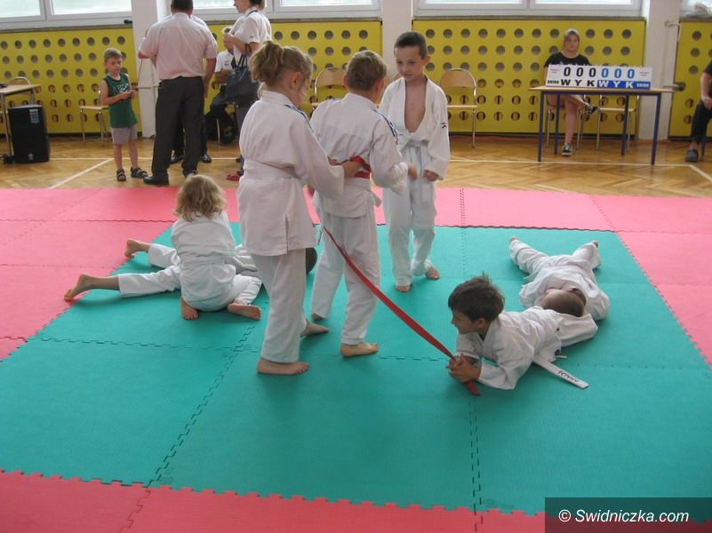 Strzegom: Zawody judo odbyły się w Mietkowie
