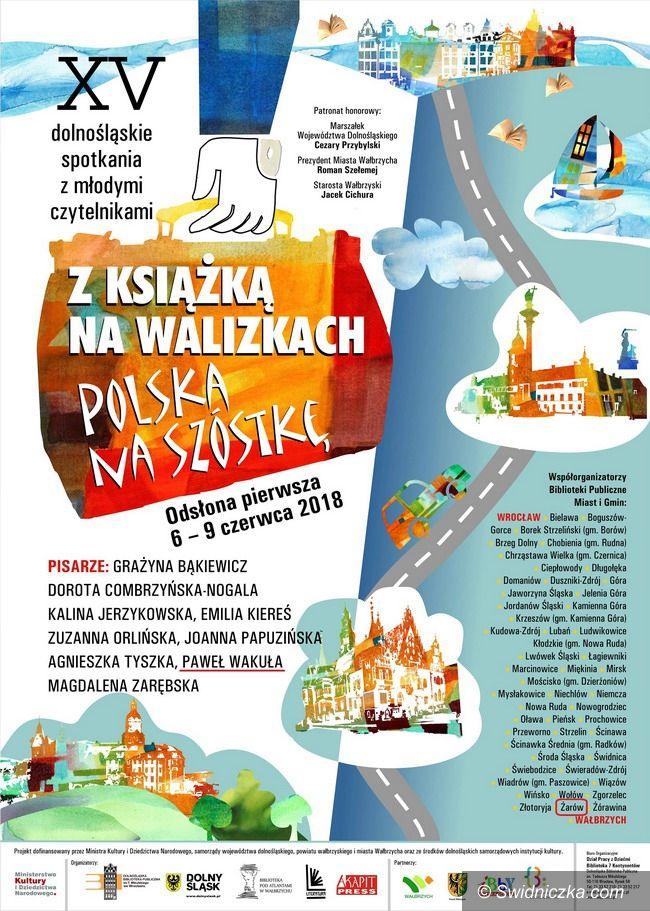 """Żarów: """"Polska na szóstkę"""", czyli z książką na walizkach po raz piętnasty!"""