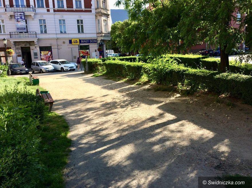 Świdnica: Skwer u zbiegu ulic Grodzkiej i Konopnickiej zostanie zagospodarowany