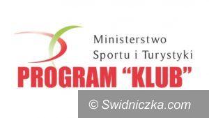 Jaworzyna Śląska: MKS Karolina beneficjentem programu KLUB