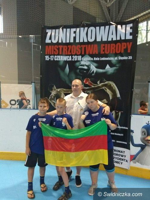 Żarów: Medale Mistrzostw Europy dla Fighter Żarów