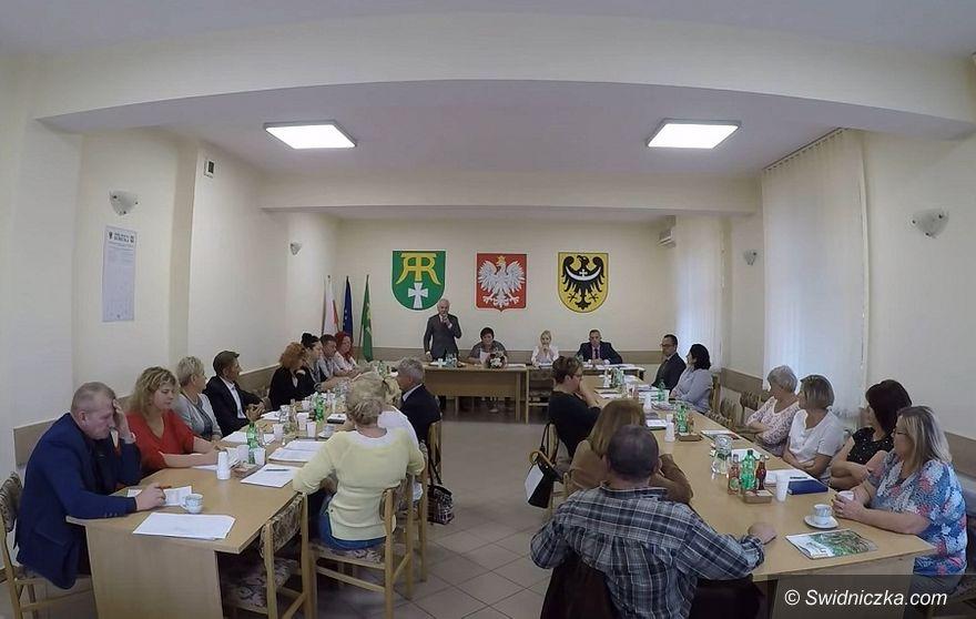 Marcinowice: Sesja absolutoryjna w Marcinowicach