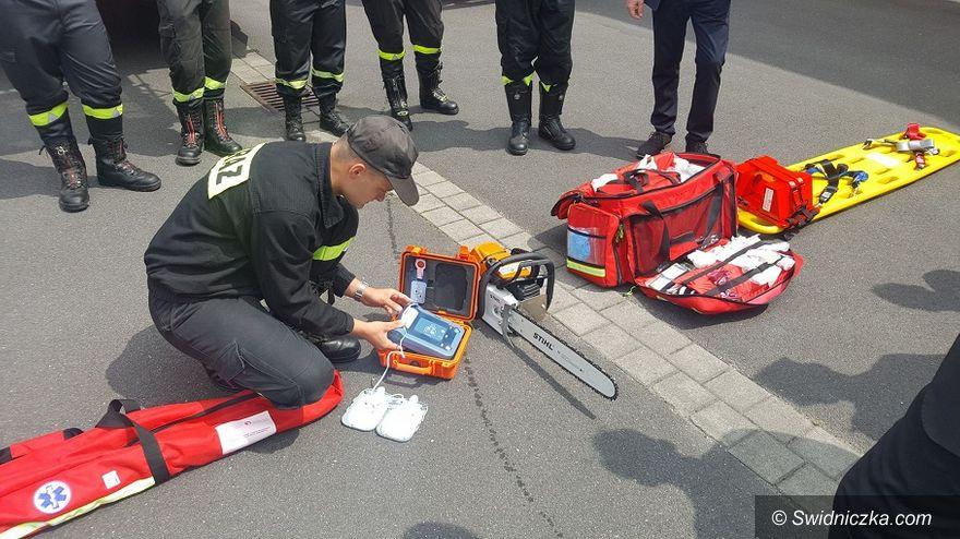 Świdnica: OSP w Świdnicy z nowym sprzętem ratowniczym