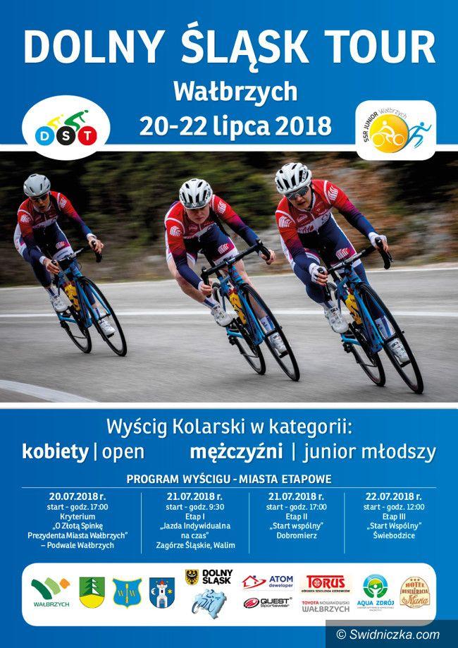 Dobromierz: Wyścig kolarski – start w Dobromierzu