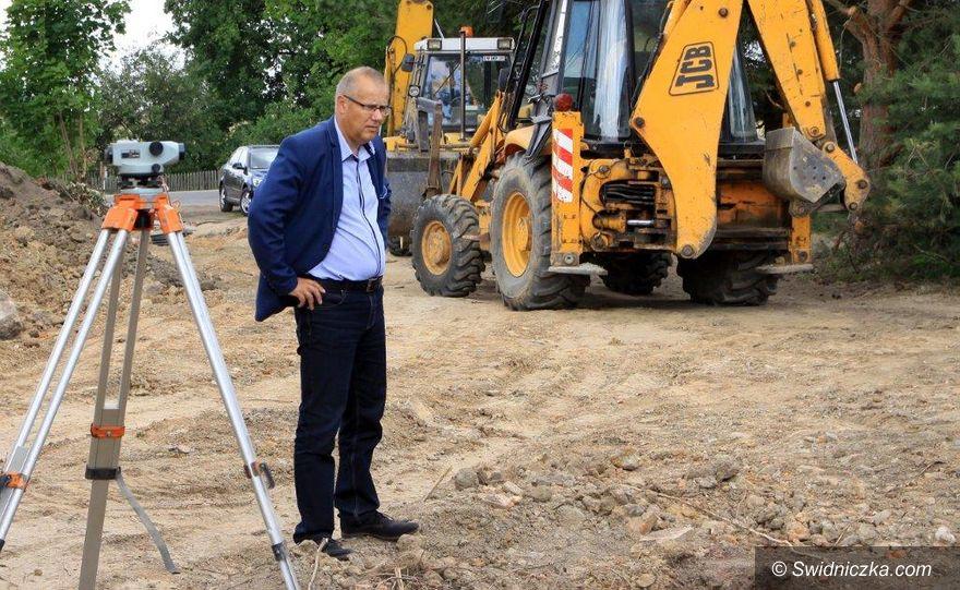 Gmina Dobromierz: Szymanowska kanalizacja na finiszu