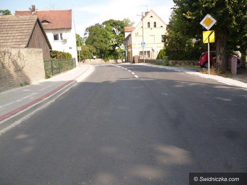 Pasieczna/Stanowice: Przebudowa drogi powiatowej na odcinku Pasieczna – Stanowice