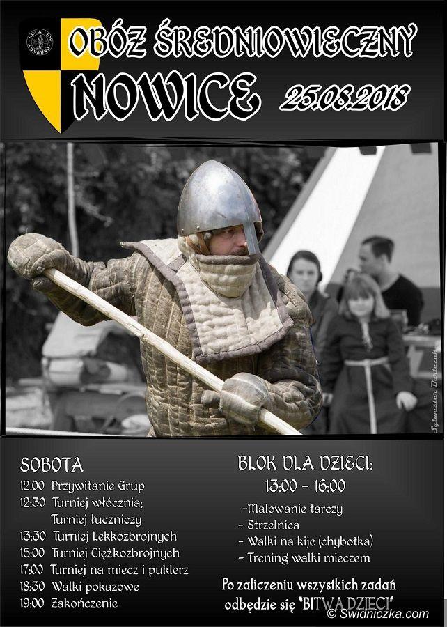 Nowice: Zapraszamy do średniowiecznego obozu w Nowicach