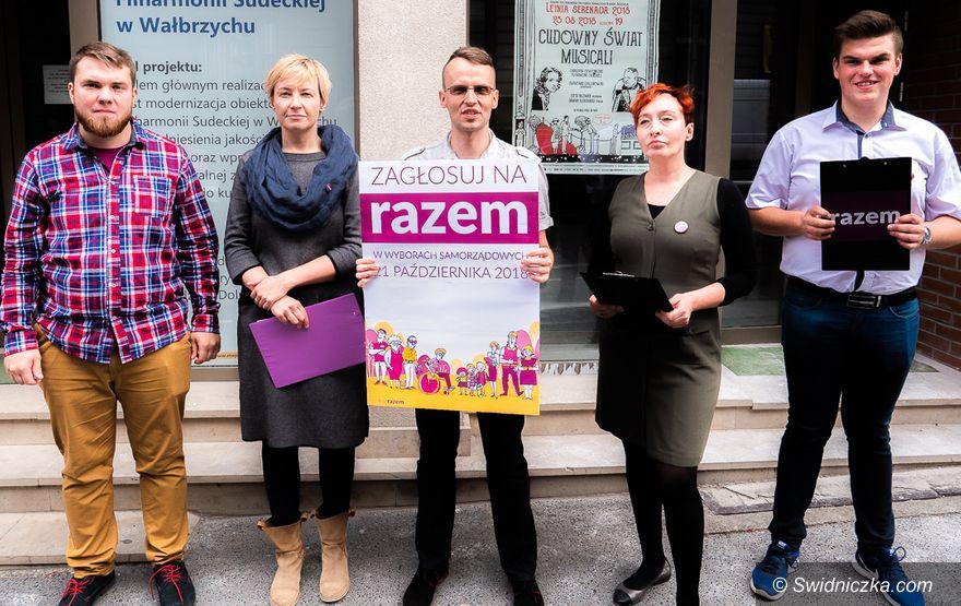 REGION: Partia Razem przedstawia kandydatki i kandydatów do sejmiku wojewódzkiego z okręgu wałbrzyskiego