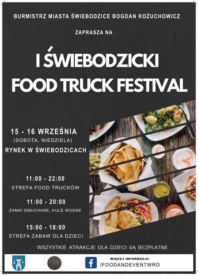 Świebodzice: Food Truck Festiwal Świebodzice – już w ten weekend