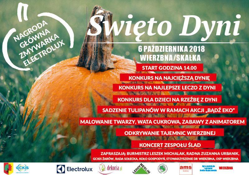 Wierzbna: Jesiennie, pomarańczowo, kolorowo na święcie dyni w Wierzbnej