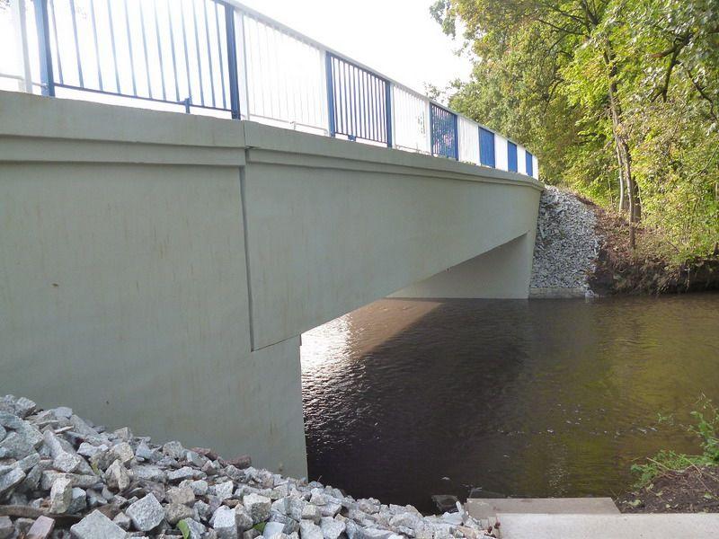 Skarżyce: Most w Skarżycach wyremontowany