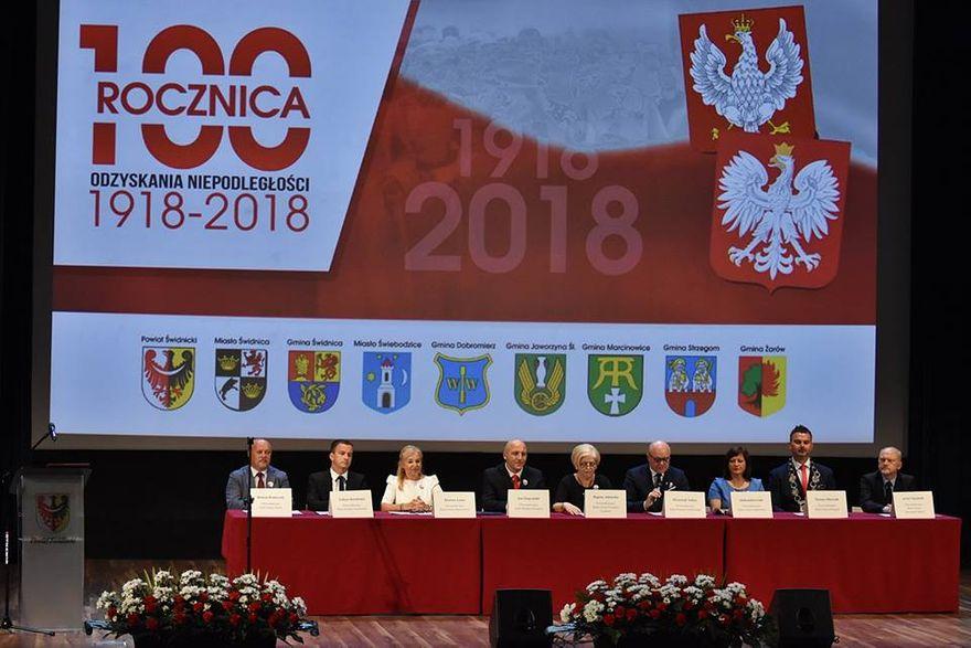 Gmina Świdnica: Deklaracja Świdnicka i Orzeł Powitau dla Teresy Mazurek