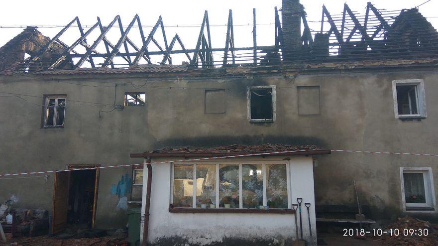 Mokrzeszów: Potrzebna pomoc dla pogorzelców z Mokrzeszowa