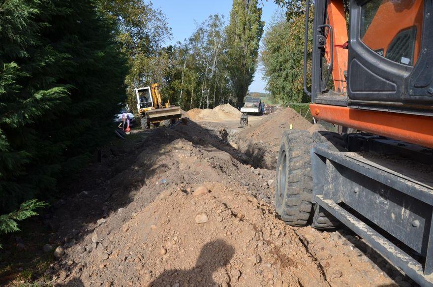 Klecin: Ruszyła odbudowa drogi gminnej w Klecinie