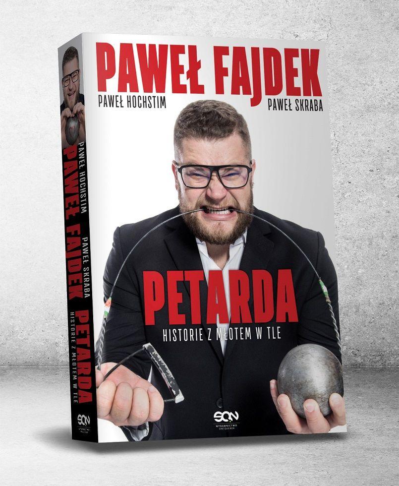 """Żarów: Fajdek napisał książkę! """"Petarda"""" już w księgarniach"""