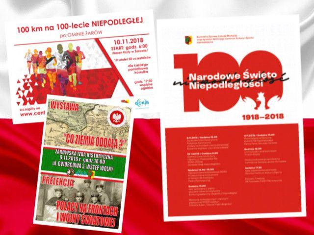 Żarów: Świętujemy 100–lecie Odzyskania Niepodległości