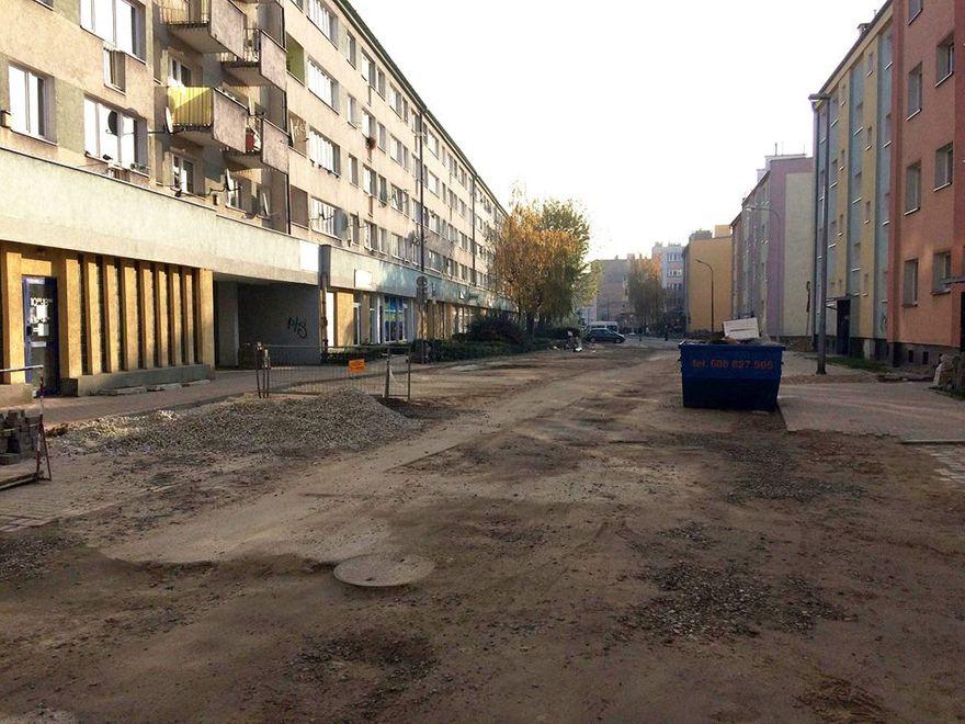 Świdnica: Rozpoczyna się remont ulicy Siostrzanej w Świdnicy