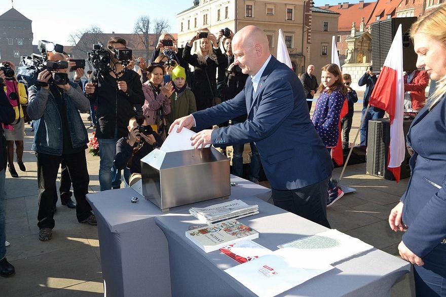 Gmina Świdnica: 100 listów na 100–lecie niepodległości