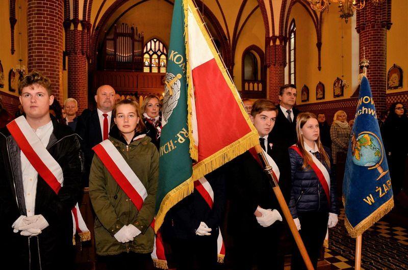 Żarów: W gminie Żarów uczcili 100–lecie Odzyskania przez Polskę Niepodległości